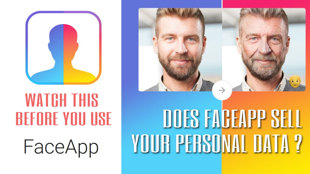 """Russians now own all your old photos."" IS that True ? Does FaceApp sell your personal data !?"