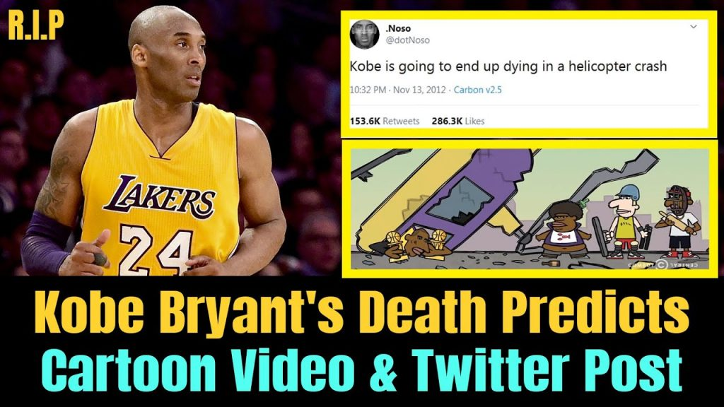 Kobe Bryant's Death Predicted Through Cartoon and Twitter Post