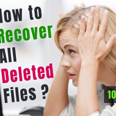 How to Recover all Deleted Files from USB/HDD/SSD Drives | 100 % Recovery