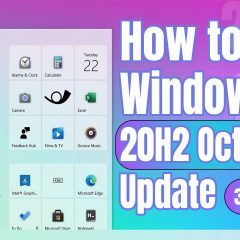 How to install Lasted Windows 10 Update – October 2020 Update v20H2
